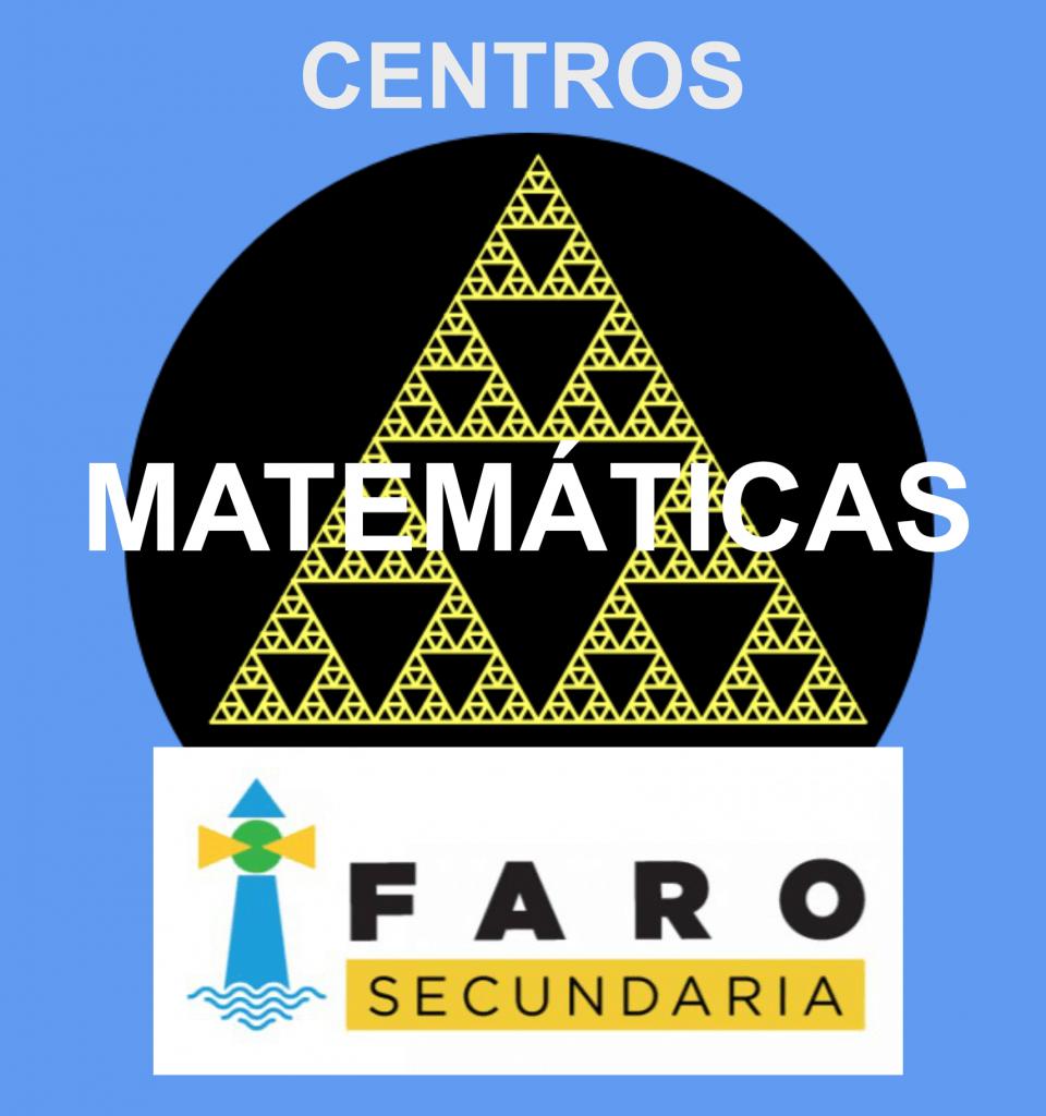 Logo Centros Matematicas FARO azul