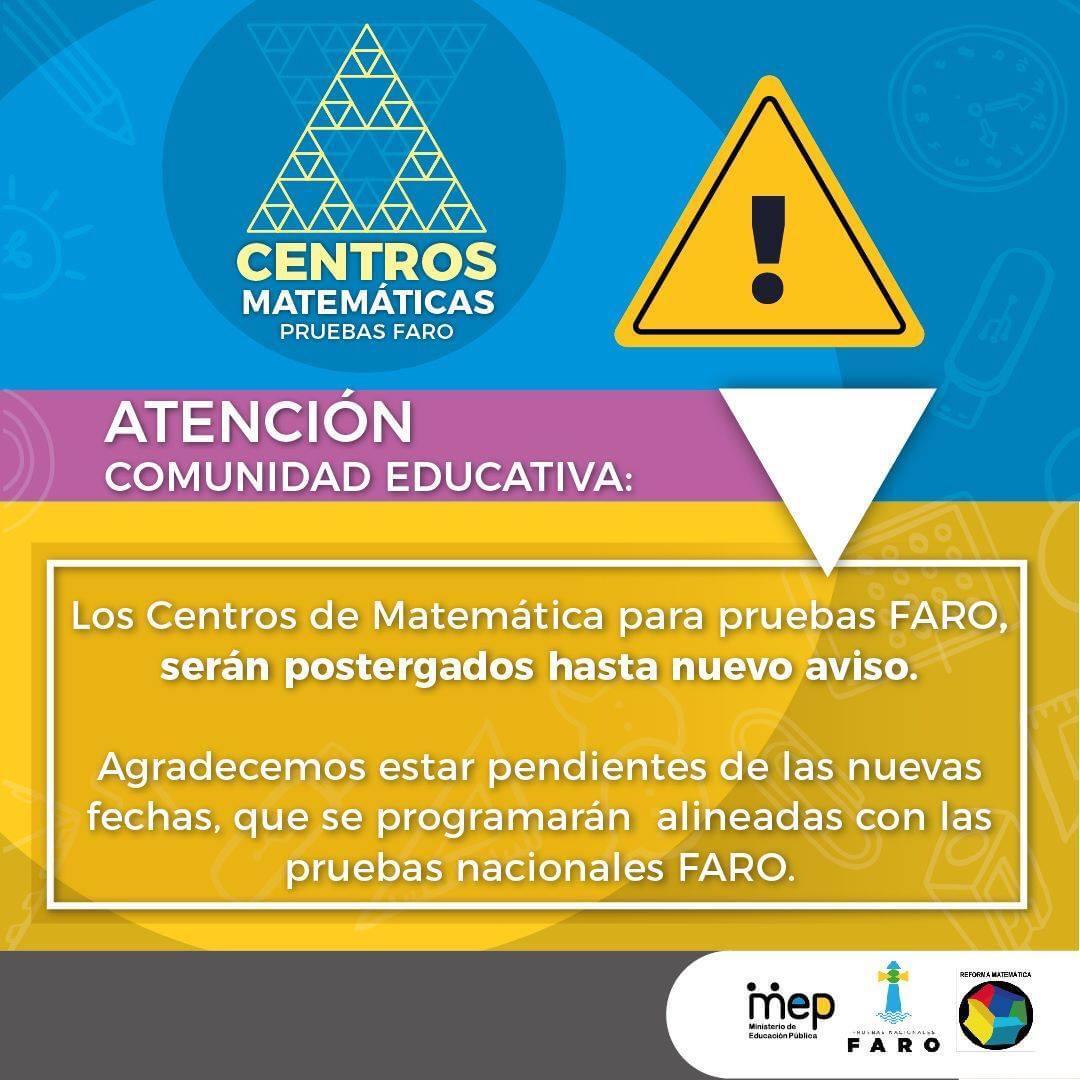 Logo suspension de centros