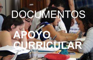 Documentos apoyo curricular